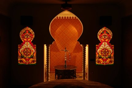 Morocco Theme. Stained Glass